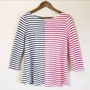 3/$30 Anthropologie Striped Top 131